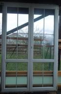 Balkonové dveře dvoukřídlé 153x240