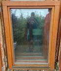 Dubové okno - Euro profil 98x125 1xP,1xL