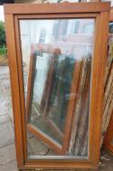 Dubové okno - Euro profil 98x140 2xP
